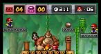 Trois coups pour mettre hors d'état de nuire Donkey Kong à chaque fin de monde.