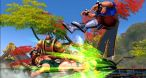 Le gameplay de SFXT est basé sur les enchaînements à deux, le round se termine donc lorsque n'importe lequel des deux personnages n'a plus de santé !
