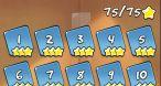Chaque univers (des boîtes) de jeu offre 25 niveaux avec trois étoiles à récupérer.