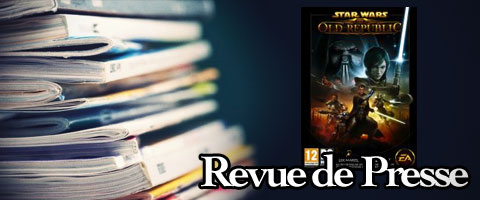 Revue de presse : Star Wars the Old Republic