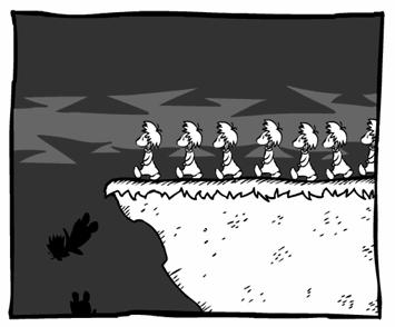 Une histoire de Lemmings...