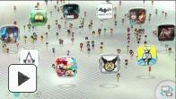 vid�o : Wii U : Mii Plazza - Wara Wara Plaza (Nintendo Direct du 7 novembre)