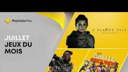 vidéo : PlayStation Plus | Juillet 2021 | Call of Duty: BO4, WWE 2K Battlegrounds, A Plague Tale: Innocence
