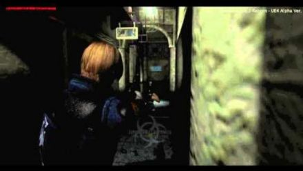 vidéo : Resident Evil 2 Reborn : trailer de gameplay Unreal Engine 4 partie 2