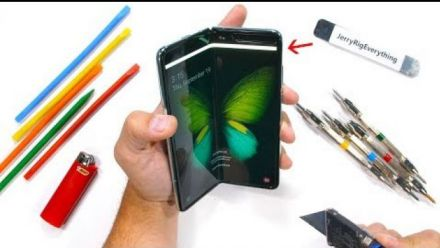 vidéo : Samsung Galaxy Fold Durability Test