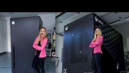 vidéo : Unboxing du frigo Xbox Series X par iJustine