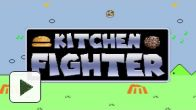 vidéo : Hamburger au menu de Kitchen fighter !