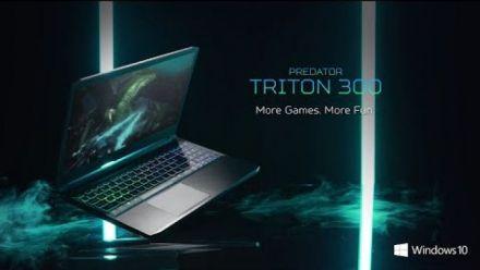 vidéo : Triton 300 Gaming Laptop 2020