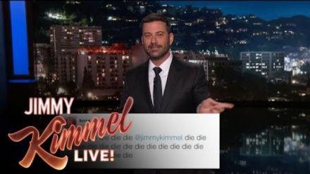 vidéo : Jimmy Kimmel répond aux commentaires et menaces des gamers