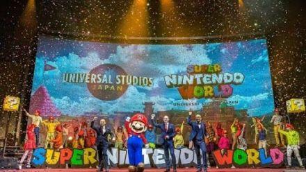 vidéo : Super Nintendo World : Vidéo conférence Universal Studios Japan