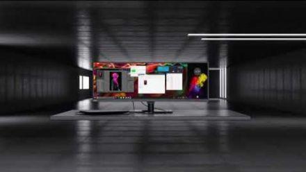 vidéo : Lenovo ThinkVision P44w Monitor Product Tour