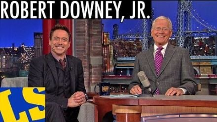 "vidéo : Robert Downey Jr. on ""Iron Man 4"" - David Letterman"