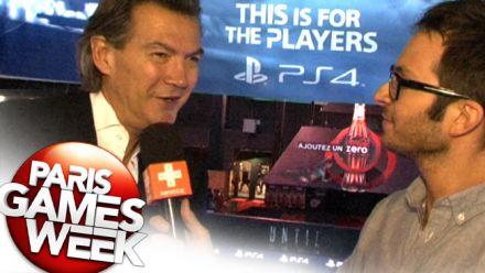 vid�o : Philippe Cardon, président de PlayStation France