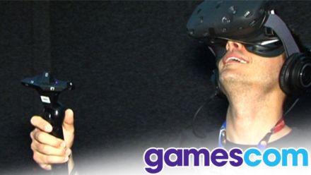 vid�o : Gamescom 2015 : nous avons essayé le HTC Vive, la claque