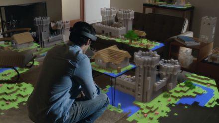 vidéo : Minecraft sur HoloLens, ça donne ça