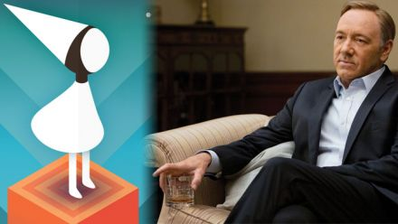 vid�o : House of Cards : Frank Underwood joue à Monument Valley