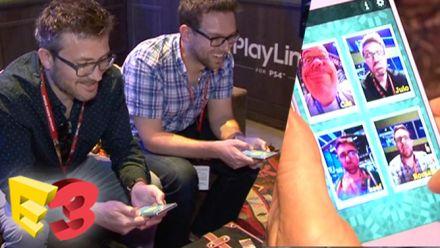 vidéo : E3 2017 : On a joué aux jeux PlayLink sur PS4, le multi en local réinventé
