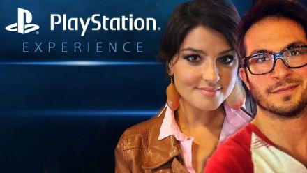 vid�o : Le PlayStation Experience en LIVE avec Gameblog