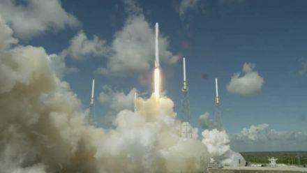 vidéo : SpaceX : explosion de la fusée Falcon 9 renfermant des lunettes HoloLens
