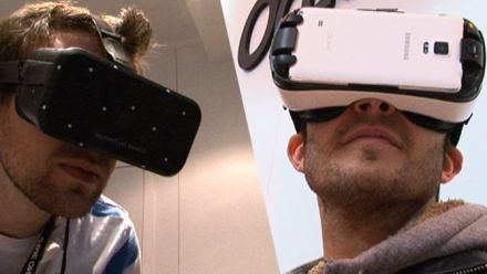 vid�o : On a testé l'Oculus Crescent Bay et Samsung Gear VR