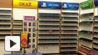vidéo : GAME : vidéos des boutiques vidées