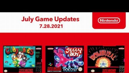 vidéo : Nintendo Switch Online : Mise à jour de juillet 2021