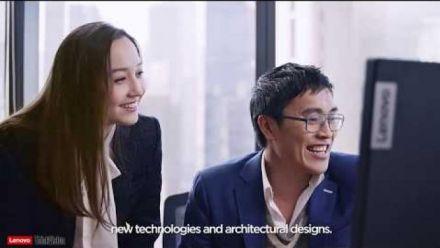 vidéo : ThinkVision P44w Endorser Video