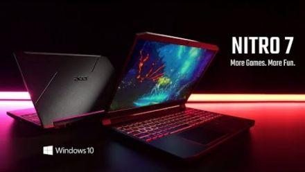 vidéo : Nitro 7 Laptop 2020