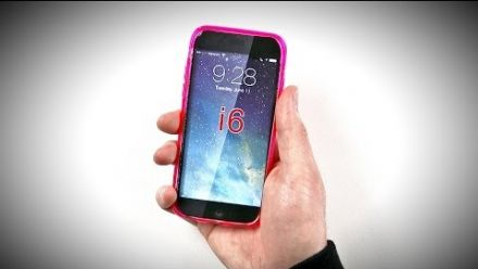 vid�o : iPhone 6 - Leak Coque Silicone