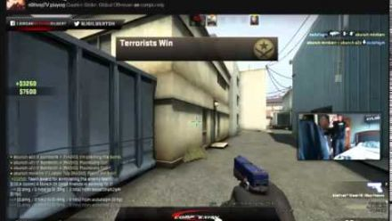 vidéo : N0thing raided live on twitch