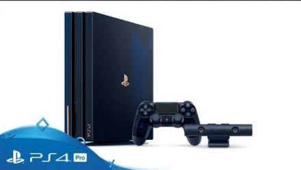 vidéo : PS4 Pro 500 millions Édition Limitée : Unboxing