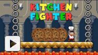 vid�o : Kitchen Fighter : recette de cookies !