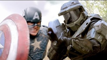 vidéo : Captain America Vs Master Chief : Cap Wins