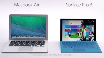 vid�o : Surface Pro 3 - Head to Head