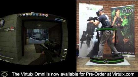 Vid�o : Counter Strike : GO avec l'Oculus Rift et Virtuix Omni