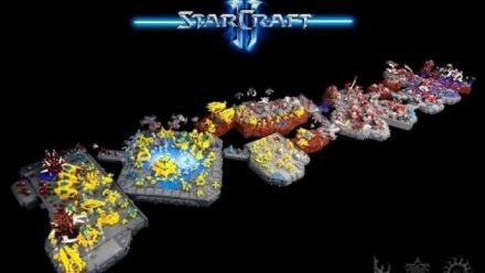 Vid�o : Lego StarCraft Display
