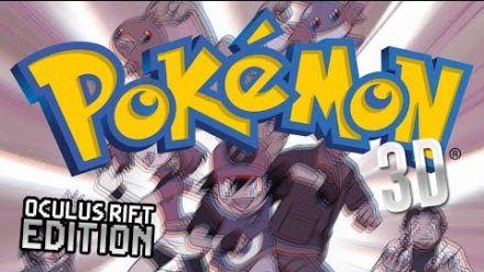 Pokémon - Il joue avec l'Oculus Rift