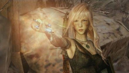 Vidéo : Lightning Returns Final Fantasy 13 - Lara Croft Trailer