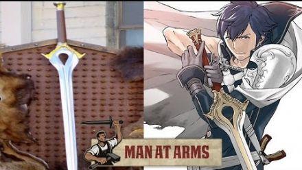Vid�o : Man at Arms - Reproduction du Falchion
