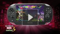 Vid�o : Ultimate Marvel Vs. Capcom 3 : PlayStation Vita Gameplay