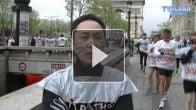Hiroshi Matsuyama au Marathon de Paris 2012