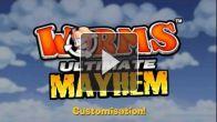 Vid�o : Worms Ultimate Mayhem - trailer customisation