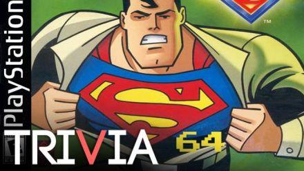 Vid�o : TRIVIA: Superman 64 a failli être bon... sur PlayStation