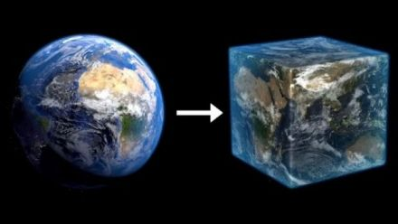 vidéo : I am going to build the Earth, 1:1 scale in Minecraft... and I need your help (vidéo de PippenFTS)