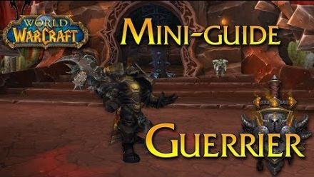 Vid�o : World of Warcraft - Tuto, Le Guerrier