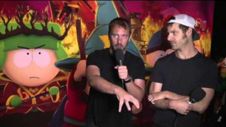 Vidéo : Interview Trey Parker & Matt Stone