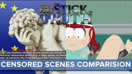 Scenes censurees South Park : The Stick of Truth