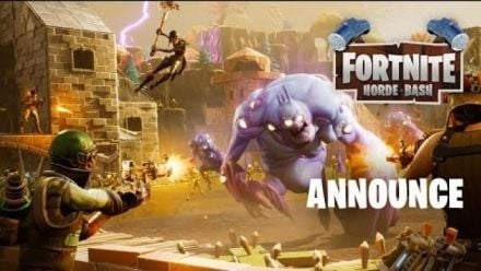 Vid�o : Fortnite : Trailer Horde Bash