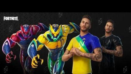 Vid�o : Fortnite - Bande-annonce de présentation de la tenue Neymar Jr