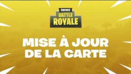vidéo : Fortnite Battle Royale : Mise à jour de la Carte 18 janvier 2018 (Version FR)